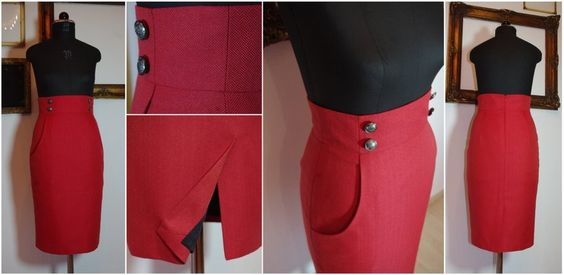 red pencil skirt - Google Search
