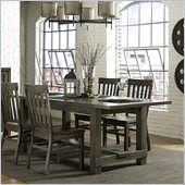 Magnussen Karlin Wood Rectangular Dining Table in Grey Acacia - D2471-20