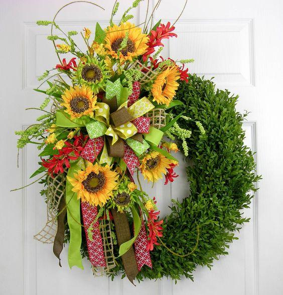 Summer Sunflower Terri Bow to Go