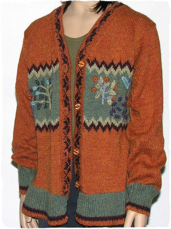 Cardigan Debbie #cardigan con scollo a V - bottoni in ceramica - paesaggio ricamato rococò   #modaetnica #ethnicalfashion #alpacaswhool #lanadialpaca #peruvianfashion #peru #lamamita #moda #fashion #italianfashion #style #italianstyle #modaitaliana #lamamitafashion #moda2016 #fashion2016 #winter #winterfashion #sweater #wintersales #sales #childrenfashion #modabimbi