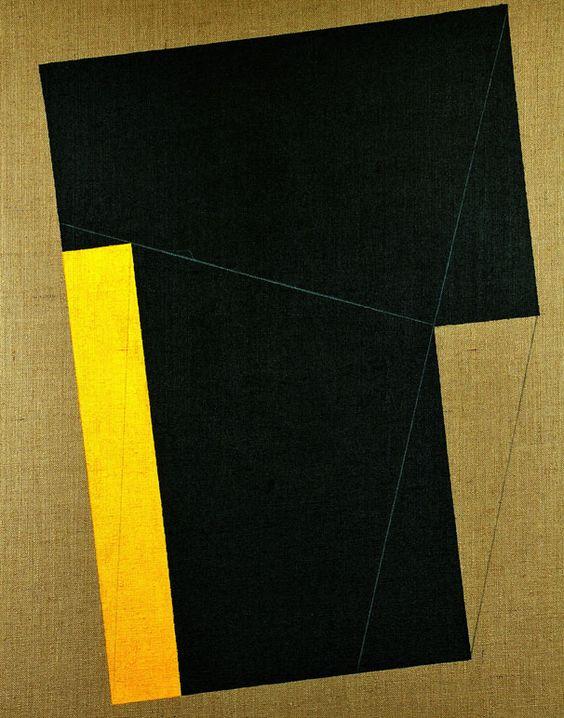 """GIANFRANCO PARDI, """"Controcampo X 1"""" 2008, acrilico e pastello su tela, cm 100x80"""