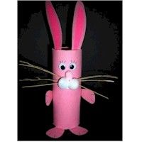 Cardboard Tube Crafts for Easter