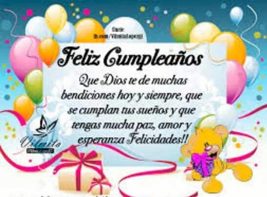 Frases De Feliz Aniversário: Felicitaciones Para Cumpleaños
