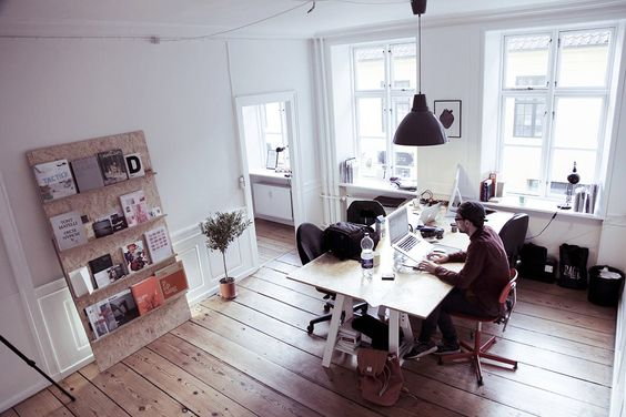 Dream workspace in Copenhagen at We are all in this together (WAAITT)