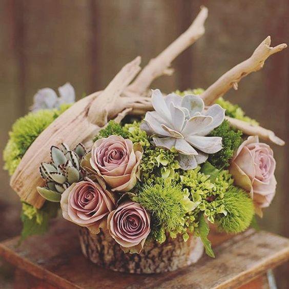 Centrotavola autunnali non convenzionali. #centrotavola #matrimonio #lefrufru_com #centerpiece #fallwedding #autunno #malva  #succulent #floralverde