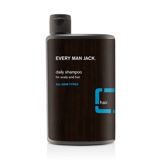 For men-but more natural than other products-go ahead and use your man's stuff