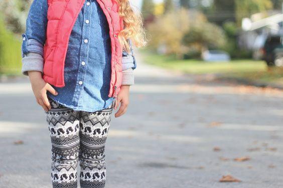 {mini} FASHION: Patterns & Layers, Trendy Tots, Fall Fashion, Joe Fresh, H&M Kids, Layering with Patterns.