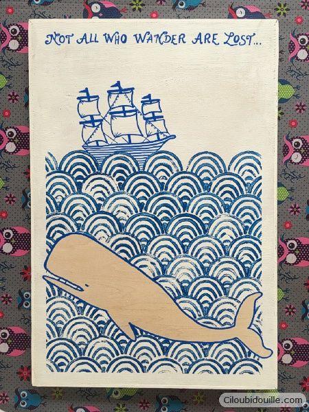 Tableau en vague japonaise | Ciloubidouille