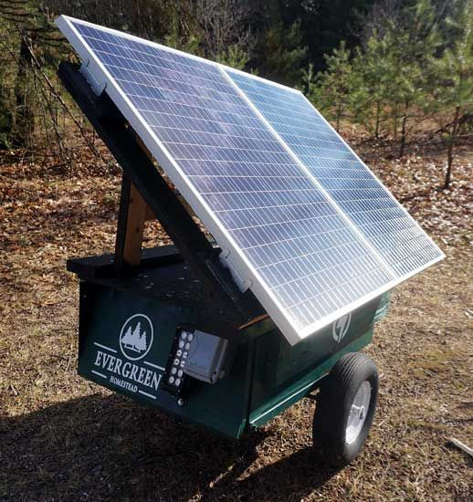Portable Solar Powered Generator Mother Earth News In 2020 Solar Powered Generator Solar Portable Solar Power