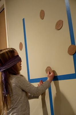 Party Game - Have kids try to place the football between the goal posts.  This would be a fun thing to have for the kids at a Super Bowl party
