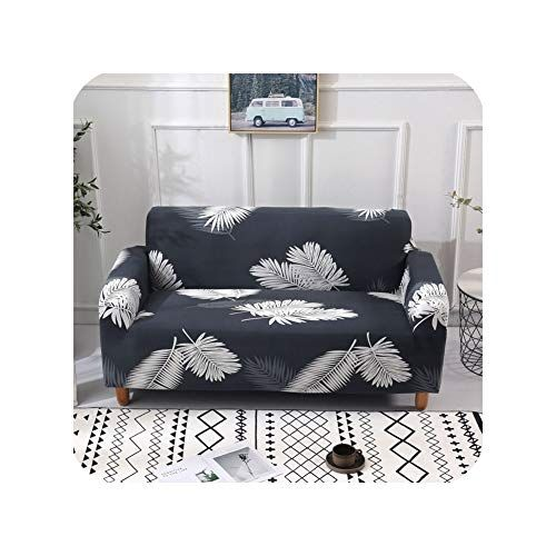 Tiryiity Printed Sofa Cover For Living Room Elastic Stretch All Inclusive Couch Slipcovers For 1 2 3 4 Seater In 2020 Corner Sofa Covers Slip Covers Couch Printed Sofa