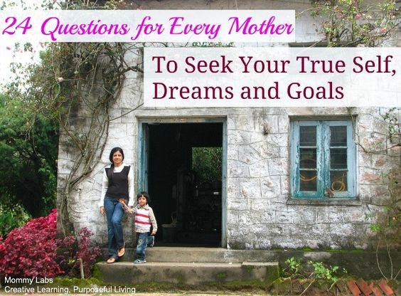 The Song - Landslide by Fleetwood Mac - made me think of my mother's life and journey and inspired me to think about mothers around the world who go on living without realizing their own dreams and passions and caring for their health. My earnest wish is that these 24 Questions will make every mother look deep within herself and connect with her true self. www.mommy-labs.com