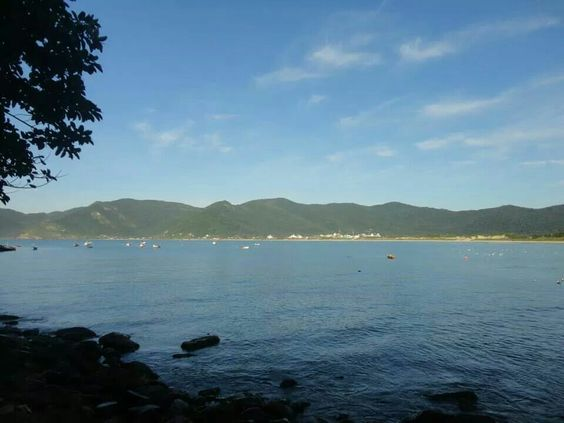 Praia do Pantano do Sul. Florianópolis. Brasil.