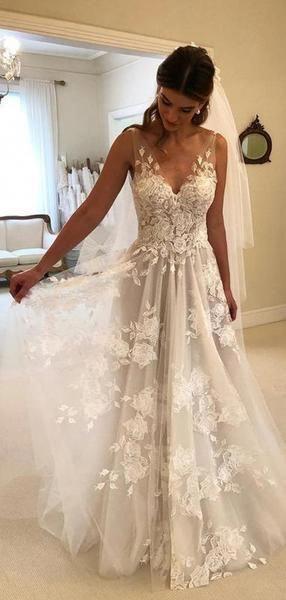 Bridesmaid Dresses Order Online Canada White Lace Prom Dress Backless Wedding Dress Floor Length Wedding Dress