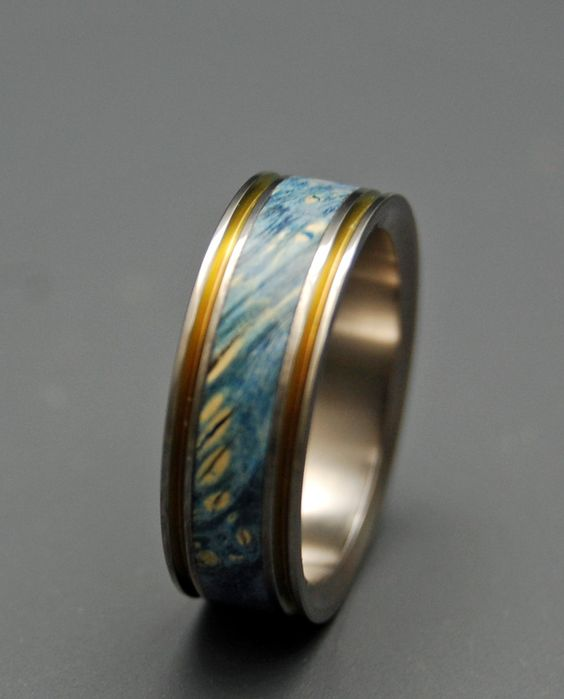 True partner      Minter + Richter | Titanium Rings - Unique Wedding Rings | Titanium Rings | Minter + Richter
