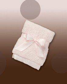 Bearington Baby - Cozy Chenille Security Blanket (Pink). Available at OurPamperedHome.com