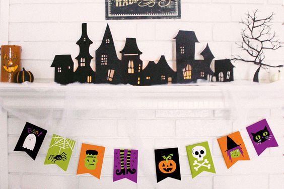 Kid Friendly Halloween Banner