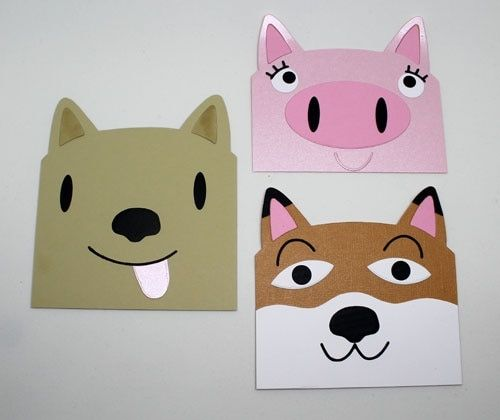 Easter Bunny Pigs Cutting Dies DIY Paper Card Crafts Scrapbooking Mould Stencils
