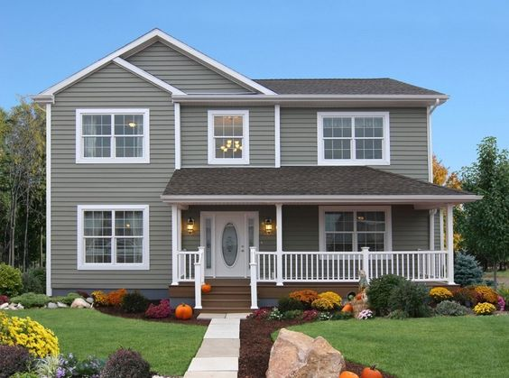 Modular Homes Two Story Homes And Country Porches On