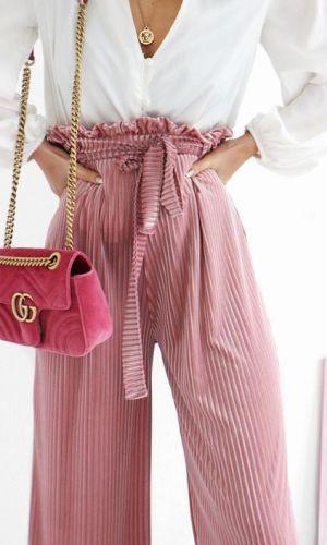 Tendencia :Pantalones de cintura alta: high waisted pants