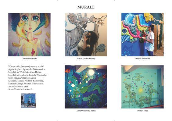 Obrazo-Murale wystawa na Wiejskiej