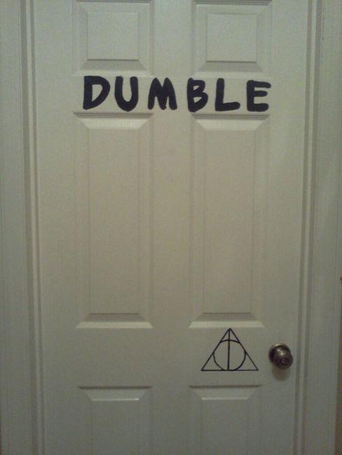 Dumble-door. XD