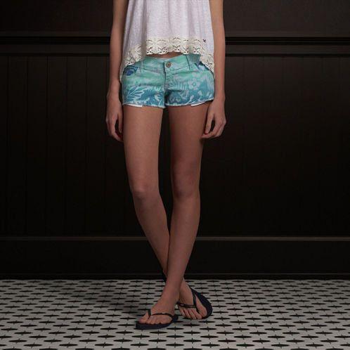 Hollister Low Rise Short-Shorts