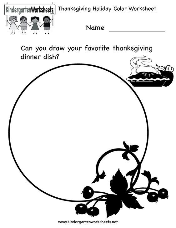 Number Names Worksheets free printable thanksgiving worksheets for kids : Thanksgiving holiday, Thanksgiving and Kindergarten thanksgiving ...