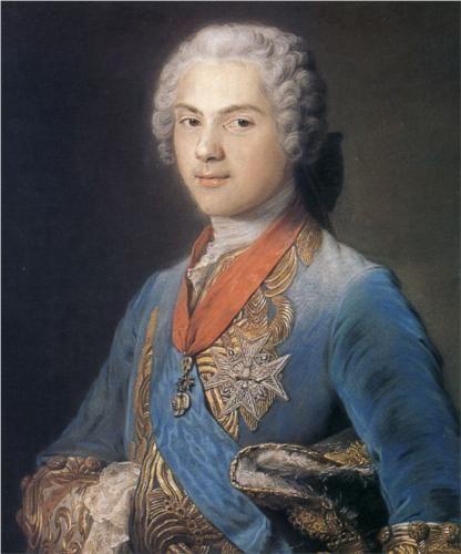 Louis of France, Dauphin, son of Louis XV - Maurice Quentin de La Tour