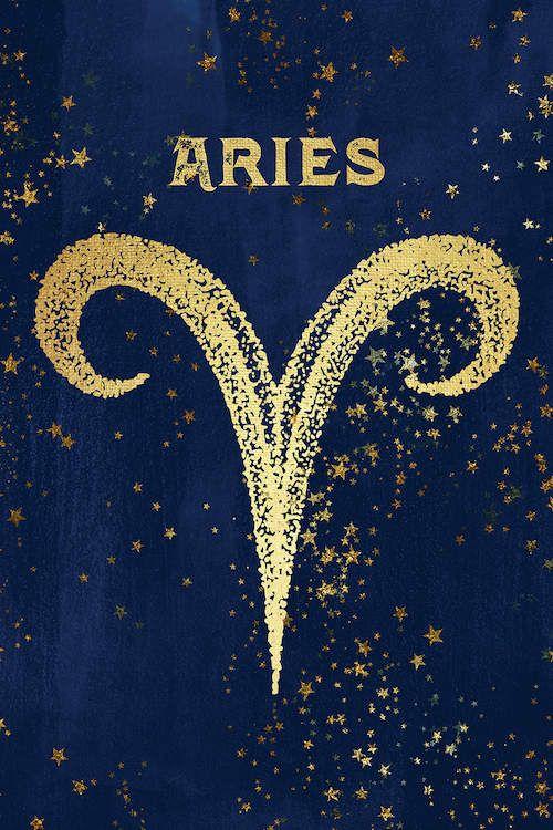 Aries Zodiac Sign Canvas Print By Nature Magick Icanvas In 2021 Aries Art Aries Wallpaper Zodiac Signs Aries