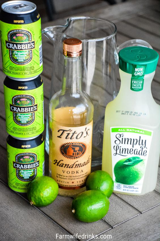 Moscow Mule Punch - Moscow mule recipe - Honorable BLog