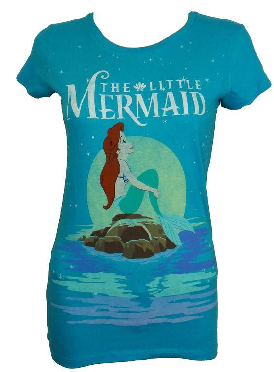 Little Mermaid Ariel Starry Night Tee $20