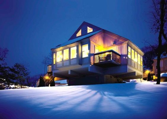 We've got the lowdown on nearby cabin communities where your family can create warm winter memories.