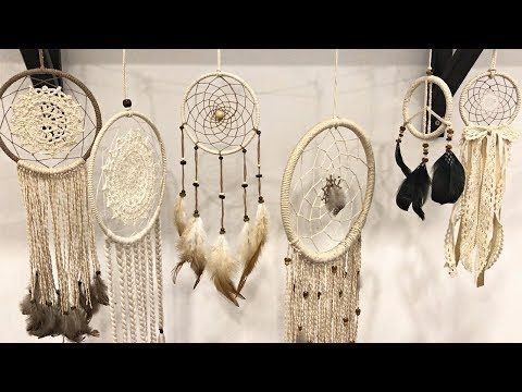 How To Make A Macrame Feather Wall Hanging Tutorial For Beginners In This Tutorial I Sh Dream Catcher Tutorial Diy Dream Catcher Tutorial Dream Catcher Diy