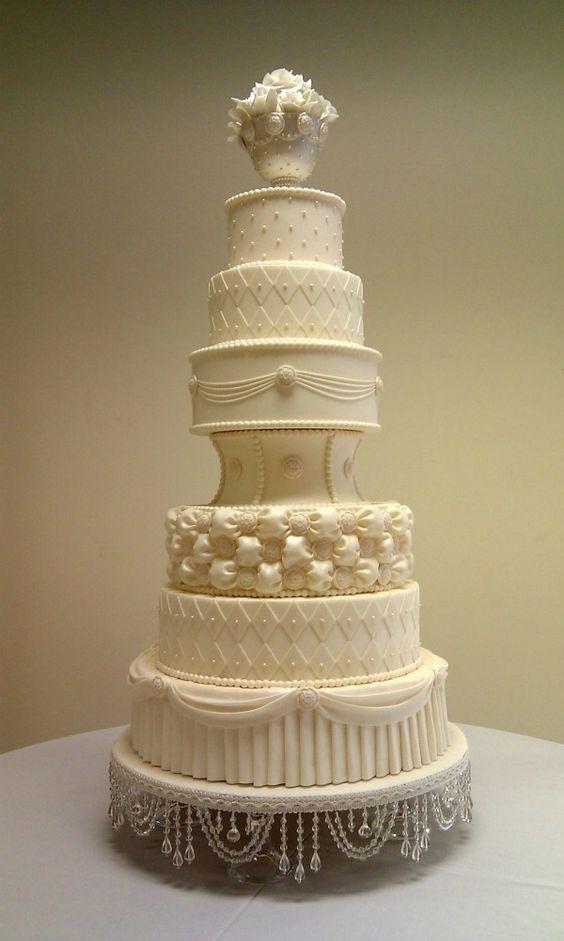 most beautiful wedding cake toppers probably one of the most beautiful white on white wedding 17556