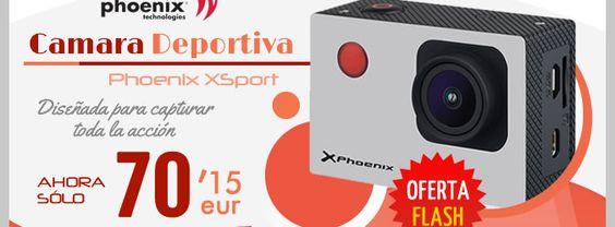 #Videocamara Deportiva Phoenix XSport.    http://www.opirata.com/es/videocamara-deportiva-phoenix-xsport-p-36786.html