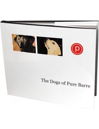 the dogs of pure barre. one guess who's right inside the ...