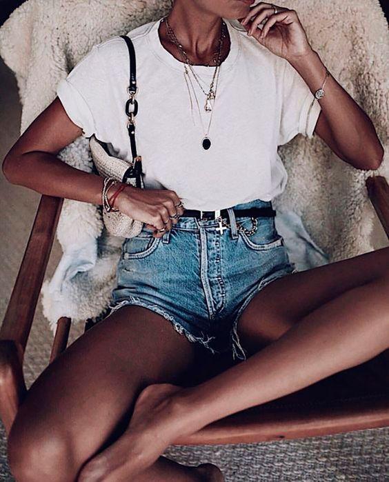 82 Looks Con Polera Blanca, El Básico De Fondo De Armario Infalible   Cut & Paste – Blog de Moda
