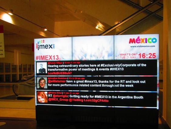 Virtualmente en IMEX 2013 - Frankfurt