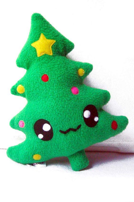 fluse kawaii plush chrismas tree rboles de navidad
