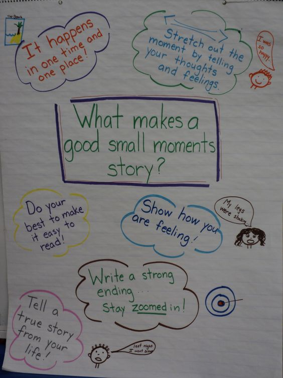 Writing a good story