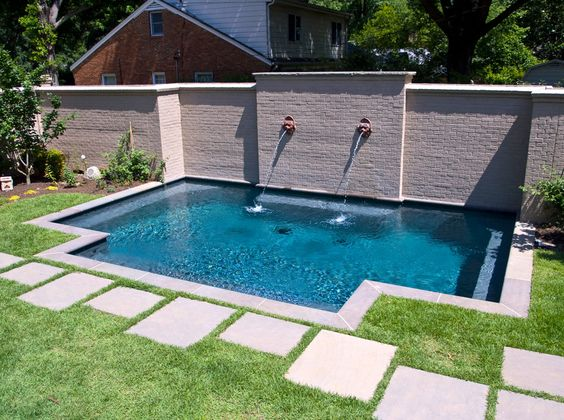 Memphis Pool Garden And Compact Swimming Pool Getwell