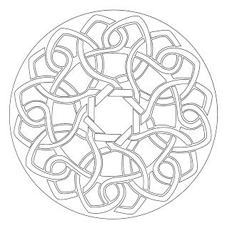 Mandalas Para Pintar: mandalas redondos