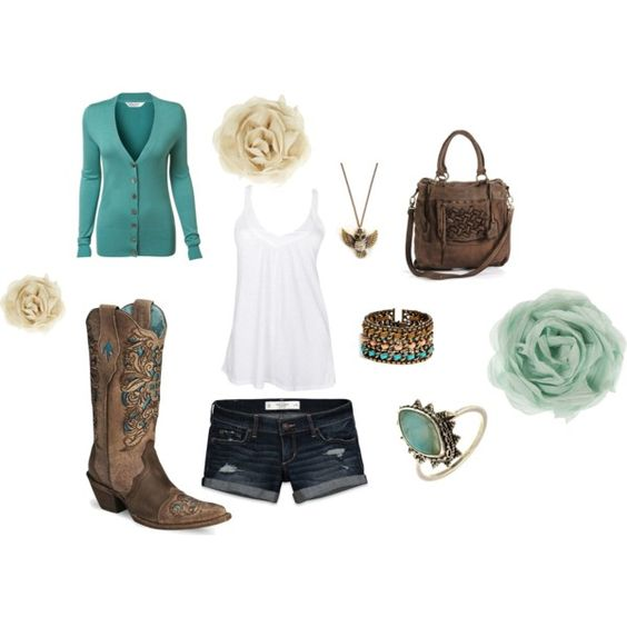 i cant wait to wear something similar to this during the summer :)   Summer Country, created by amanda-pearl-hous...</a
