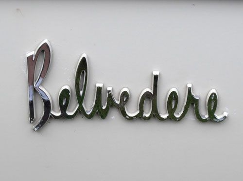 Vintage car logotypes