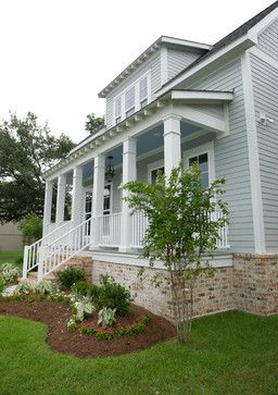 Grey Hardie Board And Brick Exterior Pinterest Traditional Home And Photos