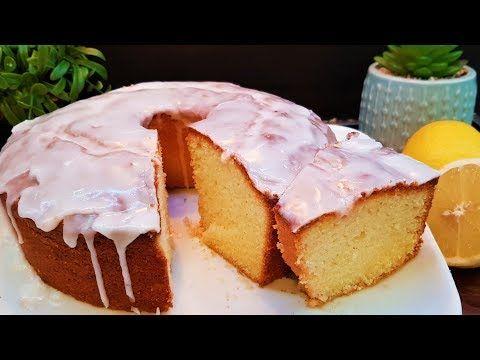 إنجلش كيك بالليمون اسفنجية و هشة و الطعم رهيب زاكي Desserts Food Food And Drink