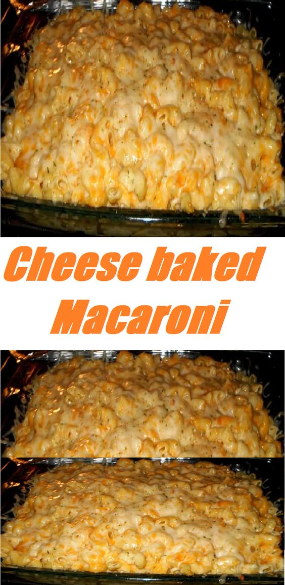 #Cheese #baked #Macaroni