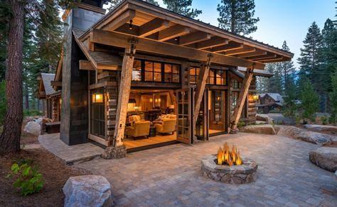 Cabanas De Madera Ideas Inspiradoras Para La Escapada Perfecta Modern Cabin Rustic House Cabin Design