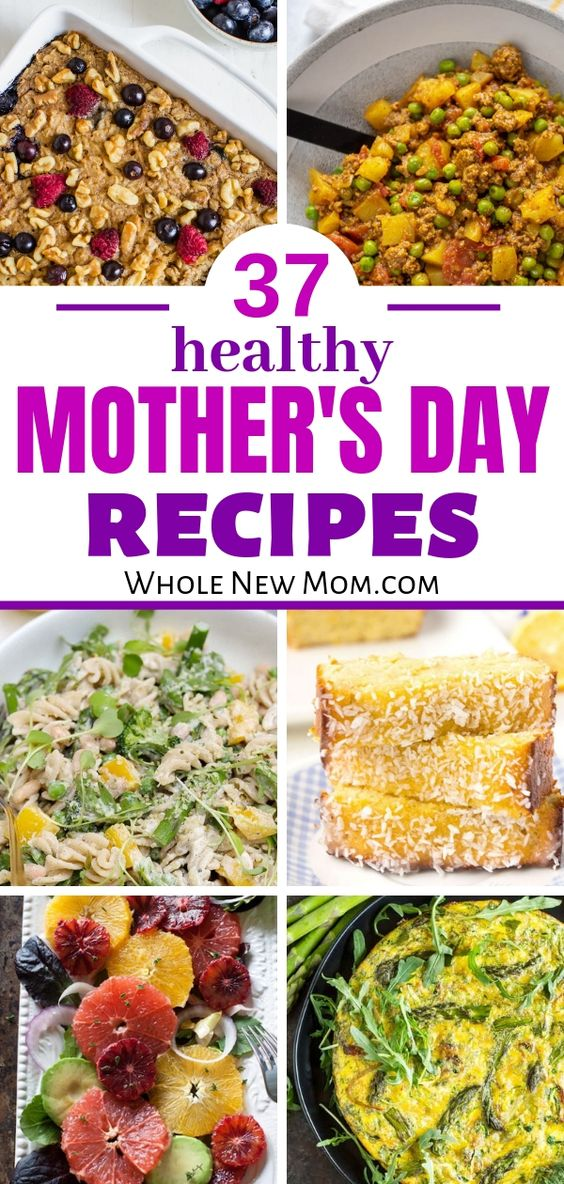 37 Healthy Mother's Day Recipes - all gluten-free!